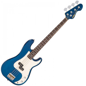 <p><span>Classic split single coil tones abound with the V4 bass.</span><br /><span>Its alder body gives a firm foundation for the Wilkinson adjustable bridge and is perfectly matched to an hard maple neck with lignum rosa fingerboard.</span></p>
