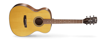 Cort's vision of alternatives to the popular dreadnought shape, the Luce Series offers smaller body size shapes like OM, Concert and Parlor that are easier to hold and play while providing a more balanced sound. An ideal balance between classic vintage looks from the golden age of guitars and modern yet practical features, the Luce Series guitars provide the best of both worlds in perfect harmony.
