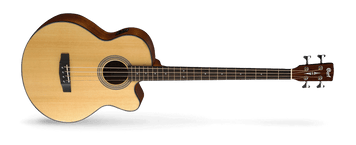 Cort acoustic bass guitars feature a deep jumbo body (depth of 110-135mm) to deliver a big natural acoustic sound with plenty of volume that will anchor the low-end in any musical setting. Fishman electronics facilitate a great amplified sound as well.