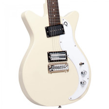 How do you improve on one of the best selling guitars in the world? Meet my X: High output single coil in neck. Lipstick® Humbucker pair in bridge. Coil tap the Humbucker pair with a pull on the tone knob. Body features hard top and bottom with hollow inner ­chamber for outstanding resonance. Die cast chrome knobs. You and the X... a match made in heaven!  • Double cutaway Shorthorn shape • Semi-hollow body with center block • Composite/Plywood construction • Scale length: 25″ • Fretboard Radius: 14″ • Neck Shape: C • Nut: 1.5″ • Neck Joint: Bolt-on • Neck Wood: Maple with double acting truss rod • Fretboard: Rosewood • Number of frets: 21 • Wraparound bridge • Tuners: 3 on a side • Hardware: Nickel • 1 dual humbucking Lipstick® bridge pickup • 1 vintage style large housing single coil neck pickup • 1 master volume • 1 master tone (with push pull switch to split bridge pickup) • 3 way pickup switch