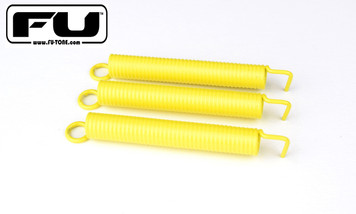 FU-Tone.com, The ORIGINAL Noiseless Spring Company, is proud announce the expansion of our noiseless spring options!  Our Noiseless Springs have a polymer coating and a foam core that stops that annoying spring noise which masks your tone!  ·      YELLOW – Super soft, noiseless and springy!