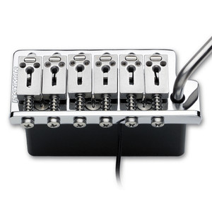 """<p>FISHMAN POWERBRIDGE TSV</p> <p><span class=""""strong"""">The World's Finest Acoustic Pickup For Your Electric Guitar!</span><span></span><br /><span>Our Powerbridge pickups offer the electric guitarist a palette of incredible acoustic and hybrid acoustic/electric sounds, for Strat</span><span>®</span><span>, Tele</span><span>®</span><span>and Les Paul</span><span>®</span><span>guitars. The Fishman</span><a href=""""http://www.fishman.com/products/series/powerbridge/powerchip.php"""">Powerchip</a><span>is recommended, but not required for all Powerbridge models.</span></p> <p><span></span></p> <table class=""""productinfo""""> <tbody> <tr> <td class=""""infotitle"""" colspan=""""2"""">FEATURES & INFO</td> </tr> <tr> <td class=""""productinfoleft longtd""""> <p class=""""tabletitle"""">MODEL NUMBER:</p> </td> <td> <p>PRO-VIB-101</p> </td> </tr> <tr> <td colspan=""""2""""> <p>Adds great acoustic sound to any electric guitar</p> </td> </tr> <tr> <td colspan=""""2""""> <p>TSV - Drop-in 2-stud mount bridge for Fender American Standard Strat</p> </td> </tr> <tr> <td colspan=""""2""""> <p>A<a href=""""http://www.fishman.com/products/series/powerbridge/powerchip.php"""">Powerchip</a>preamp is recommended, but not required</p> </td> </tr> <tr> <td colspan=""""2""""> <p>Professional installation recommended</p> </td> </tr> </tbody> </table>"""
