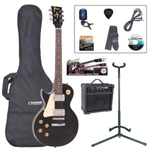 <p>Born to rock, rampage and rip it up, the Encore E99 makes for an exciting choice as a first 'serious' rock guitar! The legendary classic rock single cutaway guitar shape in a pack – AWESOME! Born to rock, rampage and rip it up, the Encore E99 makes for an exciting choice as a first 'serious' rock guitar!</p> <p><b>Contents</b></p> <li>Encore E99 Electric Guitar</li> <li>Kinsman 10 Watt Rehearsal Guitar Amp</li> <li>Guitar Tech Tuner</li> <li>Kinsman Carry Bag</li> <li>Kinsman Guitar Stand</li> <li>Kinsman Guitar Lead</li> <li>Guitar Tech Guitar Strap</li> <li>Encore Tutorial DVD</li> <li>Spare Set of Strings</li> <li>Plectrum</li> <li>Tutor Listing</li>