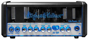 <p><span>With the Hughes And Kettner TubeMeister 18 Valve Guitar Amp Head, Mr. Hughes and Herr Kettner packed all their know-how and over a quarter of a century's passion for tube amps into a remarkably compact chassis.. Thanks to German engineering, the Hughes And Kettner TubeMeister 18 can go from a roar to a whisper, shaking the boards on stage, tingling spines in the studio, and raising goose-bumps in the still of night - even during silent recording.. Serving up three different sounds at the touch of a footswitch, the soulful Tube-Meister 18 is the go-to guitar amp for gigging. Its four-step power soak brings the sound of the big stage into small clubs and your own four walls. And courtesy of the built-in Red Box and silent recording capability, you can lay down pro-quality tracks at any time day or night.. Hughes And Kettner TubeMeister 18 features include:. Clean and Lead channels, both with GAIN and MASTER controls. 2 x 12AX7 Preamp valves, 2 x EL84 Power amp valves. Controls: Treble, Mid, Bass EQ, Lead Boost and Channel Select switches, Master and Gain controls on both channels. Power: 18 Watts. Four-step power soak. Switchable to 18, 5, 1 and 0 Watts (for silent recording) power outputs. Built-in Red Box recording output. Serial Effects loop. Dimensions: 356 x 156 x 150 mm. Weight: 5 kg. Includes padded gigbag</span></p>