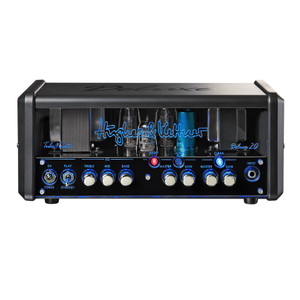 <p>The <strong>Hughes and Kettner TubeMeister Deluxe 20 Guitar Amplifier Head </strong>is an all-valve guitar amplifier head, with a 20W power output, and channels including clean, lead + boost, and a serial effects loop. Deluxe tones take you from pure, pristine cleans to an authentic brown sound and devastatingly powerful modern-day high gain, all influenced by the most beloved channels of H&K's flagship TriAmp Mark 3.</p> <p>The TubeMeister Deluxe 20 makes your job as a guitar player better sounding and easier. The real power soak lets you switch between the full 20 Watts of power, 5 Watts, 1 Watt, or even 0 Watts for truly silent recording at any time of day or night. The TubeMeister Deluxe 20 is also the first tube amp ever to offer you a genuine FRFR (full range flat response) amp sound experience.</p> <p>The groundbreaking Red Box AE (Ambience Emulation) DI output lets you connect your guitar direct to your recording setup or the PA, so it's perfect for stage and studio work. It also delivers a perfect mix of authentic 4×12 cabinet ambience effects and an ultra-direct attack of pure tube tone.</p> <p><strong>The main features of the Hughes and Kettner TubeMeister Deluxe 20 Guitar Amplifier Head include:</strong></p> <ul> <li>Channels: Clean, Lead + Boost</li> <li>Power: 20W</li> <li>Power Soak: 5 , 1, 0 Watts</li> <li>Power Amp: 2x EL84</li> <li>Preamp: 2x 12AX7</li> <li>TSC</li> <li>Effects Loop: Serial</li> <li>Red Box: Red Box AE (Ambience Emulation)</li> <li>Switching Functions: Channels, Boost</li> <li>Speaker Outputs: 1x 8-16 Ω</li> <li>Dimensions: 355 x 155 x 150 mm</li> <li>Weight: 5 kg</li> <li>Protective Cover Included</li> </ul>