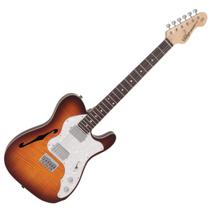 """<p><span style=""""font-family: Arial, Helvetica, sans-serif; font-size: small;""""><em>The traditional hardtail configuration, with its six saddle strings thru-body, direct mount bridge adds an additional layer of tonality, power and dynamics to the Wilkinson WHHB with their harmonically rich tone, tight lower frequency response and controlled highs.</em></span></p> <p><span style=""""font-family: Arial, Helvetica, sans-serif; font-size: small;""""><em><span>VINTAGE</span><span style=""""font-size: xx-small;"""">®</span><span>V72HH</span> <span class=""""elevengold1"""">Top: </span><span class=""""elevenpoint"""">Book Matched Flame Maple Veneer</span> <span class=""""elevengold1"""">Body: </span><span class=""""elevenpoint"""">American Alder with Acoustic Chambers</span> <span class=""""elevengold1"""">Neck: </span><span class=""""elevenpoint"""">One-Piece Hard Maple – Bolt On</span><span class=""""elevengold1"""">Scale: </span><span class=""""elevenpoint"""">25.5""""/648mm </span> <span class=""""elevengold1"""">Frets: </span><span class=""""elevenpoint"""">22 Medium </span> <span class=""""elevengold1"""">Neck Inlays: </span><span class=""""elevenpoint"""">Pearloid Dot</span> <span class=""""elevengold1"""">Tuners: </span><span class=""""elevenpoint"""">Wilkinson® WJ55</span> <span class=""""elevengold1"""">Bridge: </span><span class=""""elevenpoint"""">Wilkinson® WVFS</span> <span class=""""elevengold1"""">Pickups: </span><span class=""""elevenpoint"""">2 Wilkinson® WHHB Double Coils</span> <span class=""""elevengold1"""">Hardware: </span><span class=""""elevenpoint"""">Chrome</span> <span class=""""elevengold1"""">Controls: </span><span class=""""elevenpoint"""">Volume/ Tone/ 3-Way Lever</span></em></span></p> <p><span style=""""font-family: Arial, Helvetica, sans-serif; font-size: small;""""><em><span class=""""elevenpoint""""></span></em></span></p>"""