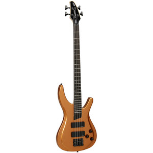 The Alpha bass series from Tanglewood aims to deliver smooth playability and a broad selection of tones to suit any bass playing application. A solid maple neck and rosewood fretboard lead to a sleek contoured basswood body with high quality, die-cast black hardware. The two passive humbucking pickups share a common volume and tone control but can be easily combined or separated using the blend knob, allowing for limitless tonal capabilities. Available in Metallic Blue, Metallic Black and Metallic Copper gloss finishes.