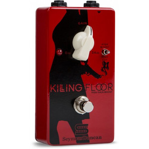 The Killing Floor High Gain Boost is both a volume boost and a musical amp-like overdrive all in one.