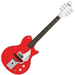 <p>SUPRO BELMONT VIBRATO AMERICANA GUITAR - POPPY RED</p>