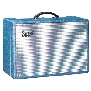 <p>The Supro 1650RT Royal Reverb is a lightweight, vintage sounding amp powered by a pair of 6973 tubes with a 5U4 tube rectifier. Tactile response and signature breakup that Supro is known for is delivered with a manageable volume. Sporting a vintage-correct cabinetry and classic Supro styling with complete power-tube tremolo and all-tube spring reverb, the 1650RT is an ideal amp for working guitarists</p>