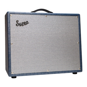 "<p>For those players who love the huge, bold sound of the 1×15"" Thunderbolt amp, but need a lush, all-tube reverb to fill out their sound, Supro presents the 1675RT Rhythm Master amplifier. Rooted in Supro tradition, this vintage inspired model is loaded with independent bass and treble controls, six-spring long pan reverb, output tube tremolo and switchable Class A / Class AB power amp wiring for 35, 45 or 60 watts of vintage American tone.</p> <p>The Rhythm Master's USA made custom 15"" driver is the most accurate and true sounding 15"" guitar speaker on the market, with a full, broadband sound that is never muddy. To create this signature speaker, we worked with Eminence to combine the best elements of our favorite vintage 15"" speakers (Jensen C15PS & JBL D130) with modern construction methods and materials to achieve a vintage voiced driver with superior power handling and juicy bottom end.</p> <p>The unique power amp topology of the Rhythm Master not only allows for players to change the texture and output volume of the amp but it also provides two very different, all-tube tremolo effects depending on whether Class A (cathode bias) or Class AB (grid bias) mode is selected. The cathode bias tremolo is vintage Valco/Supro all the way, where the overall depth of the effect changes along with the dynamics of your playing. The grid bias tremolo is gives a much deeper, stronger and more pronounced throbbing effect. Since the tremolo is performed by modulating the bias of the output tubes, the reverb necessarily comes before the tremolo effect, for a mesmerizing combination of pure tube reverb and tremolo when both effects are combined.</p>"