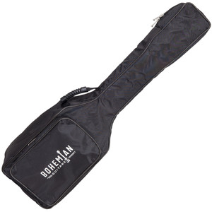 <p>BOHEMIAN GUITAR GIG BAG - BLACK</p> <p>Protect your Bohemian Guitar with our custom made carry bag.</p> <p>• Black honeycomb patterned heavy duty denier fabric<br />• Padded for protection<br />• Heavy Duty Zips<br />• Accessory Pocket<br />• Adjustable shoulder strap<br />• Flexible comfort handle</p>