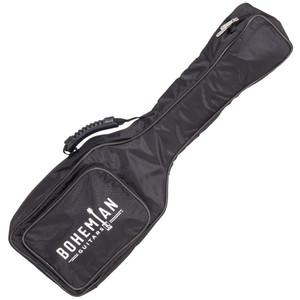 <p>BOHEMIAN UKULELE GIG BAG - BLACK</p> <p></p> <p></p> <h3>Specifications:</h3> <p>Protect your Bohemian Uke with this gig bag made specifically for your Boho.</p> <ul> <li>External pocket</li> <li>Black Exterior</li> <li>Black Stitching</li> <li>Black Piping</li> <li>Black molded handle</li> <li>Black and White Rubber logo</li> </ul>