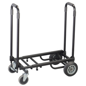<div>Ideal for the gigging musician the Kinsman Trolley is a compact, easy to assemble solution for transporting heavy speaker cabinets, drum cases rack boxes etc. With multi-directional castors the Trolley is easy to manoeuvre and has twin handles which also help to hold the load in place. The trolley can also be used upright 'sack-barrow'</div><div>style and folds away neatly when not in use.<br><br></div><div>Max load: 250Kg</div>