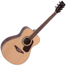 <p>VINTAGE FOLK GUITAR- SOLID TOP- NATURAL</p> <p>The Guitar Magazine awarded the V300 'Best Acoustic Guitar Under £1000' in their end of year round up. 'This little concert acoustic is stonkingly good,' continued TGM, adding, 'A comfortable, fast playing neck, plus good dynamics and volume from the parlour-esque body. At this price, go buy. Every home should have one.'</p>