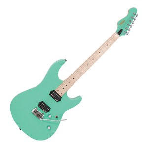 <p>VINTAGE V6 24 ELECTRIC GUITAR - VENTURA GREEN</p> <p>Designed with the needs of the modern player firmly in mind, the new V6M24 electric from Vintage is brimming with a host of features that can take you from the practice room to the world's stages.</p> <p>With an american alder body perfectly matched to a bolt-on maple neck and fingerboard, its 24 medium jumbo fretboard allows the player to comfortably access those high notes thanks to its contoured low-profile neck joint.</p> <p>Like all Vintage electrics, it comes as standard with Trev Wilkinson designed hardware and pickup. The VS50IIK Vibrato system can take some serious abuse and yet still return to pitch time after time, thanks to the added inclusion of Wilkinson WJ07LH E-Z-Lok machine heads. Meanwhile, the Wilkinson WHHB double-coil pickups provide tight bottom end and crisp highs, perfect for a variety of genres.</p>