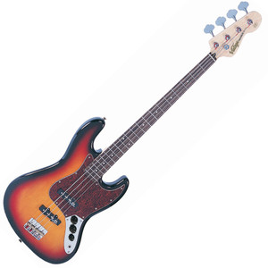 "<p>VINTAGE EJM96 BASS- SUNSET SUNBURST</p> <p><span style=""font-family: Tahoma;"">Body: Eastern Poplar</span></p> <ul> <li><span style=""font-family: Tahoma;"">Neck: Hard Maple – Bolt On</span></li> <li><span style=""font-family: Tahoma;"">Scale: 34""/864mm</span></li> <li><span style=""font-family: Tahoma;"">Frets: 20</span></li> <li><span style=""font-family: Tahoma;"">Neck Inlays: Pearloid Dot</span></li> <li><span style=""font-family: Tahoma;"">Tuners: Wilkinson® WJBL200</span></li> <li><span style=""font-family: Tahoma;"">Bridge: Adjustable</span></li> <li><span style=""font-family: Tahoma;"">Pickups: Wilkinson® PB x 1 (M) WJB00 (B) WJB800</span></li> <li><span style=""font-family: Tahoma;"">Hardware: Chrome</span></li> <li><span style=""font-family: Tahoma;"">Controls: 1 x Volume/ 1 x Tone</span></li> </ul>"