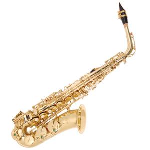 <ul> <li>Brass body</li> <li>17 keys</li> <li>Lacquer finish</li> <li>Engraved bell</li> <li>Power forged keys</li> <li>Stainless steel rods, springs and pins</li> <li>Pearloid keycaps</li> <li>High F# key</li> <li>Single braced pad cup on low C</li> <li>Fine tuning adjustment</li> <li>Adjustable thumb rest</li> <li>Quality pads and mouthpiece</li> <li>ABS plush lined case</li> </ul> <p>Accessories:</p> <ul> <li>Gloves, cleaning cloth, cork grease, neck strap, reed</li> </ul>