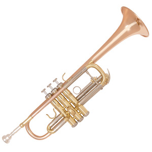 "<div><strong>Specification</strong><br />• Rose brass bell and lead pipe</div> <div>• Cupronickel outer tuning slides</div> <div>• Single braced main tuning slide</div> <div>• Monel valves</div> <div>• One water key</div> <div>• Mouthpiece 7C inc</div> <div>• Clear lacquer finish</div> <div>• Bell diameter: 4.79""/121.7mm</div> <div>• Bore size: 0.46""/11.73mm</div> <div>• Zero-gravity 'backpack' hard foam case Canvas covered, plush lined with shoulder straps</div> <div>• Accessories Gloves, oil, cleaning cloth</div> <div>• Includes additional tuning and valve slides to allow the trumpet to be tuned to Bb</div>"
