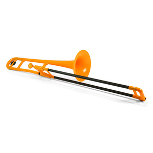 "<div> <div>The Jiggs pBone is a truly authentic musical instrument that has already started to revolutionize the way we think about trombones and brass instruments.</div> <div> </div> <div>It's a fully functioning, medium bore Bb tenor trombone designed in the UK for brass players by brass players.</div> <div> </div> <div><strong>Durable</strong></div> <div>pBone is remarkably tough. It can take knocks and bumps in its stride. The pBone is therefore perfect to allow beginners to explore the trombone without any fear of damage.</div> <div><strong> </strong></div> <div><strong>Accessible</strong></div> <div>At less than half the weight of a brass trombone the pBone is ideal for the younger player and for all those who may have difficulty with the weight and</div> <div>balance of a metal trombone.</div> <div><strong> </strong></div> <div><strong>Ergonomic</strong></div> <div>The pBone has been thoughtfully designed to allow hands of various shapes and sizes to find a comfortable and effective grip of the instrument. This</div> <div>encourages good posture and the correct hand positioning. The ergonomic features of the pBone allow those with limited or restricted use of their hands and arms to engage with the trombone.</div> <div><strong> </strong></div> <div><strong>Slide</strong></div> <div>The composite slide tubes lap in over time so the slide gets better and better with use. The unique strength of the glass fibre material means that ""dings and dents"" in your slide are a thing of the past!</div> <div><strong> </strong></div> <div><strong>Robust</strong></div> <div>All ABS parts are extremely durable and our unique one-piece bell and gooseneck design is extraordinarily strong. The glass fibre slide tube is immeasurably stronger than fragile brass tubing and will withstand collisions that would demolish a traditional brass trombone slide. pBone may not be indestructible but it is certainly the most durable and robust trombone ever produced!</div> <div><strong> </strong></div> <div><strong>Mouthpiece</strong></div> <div>Designed especially for the pBone the mouthpiece has a small shank that matches standard medium bore trombones so any regular small shank metal mouthpiece will fit.</div> <div><strong> </strong></div> <div><strong>Water key</strong></div> <div>Amongst the many unique design features the pBone has its own unique water key design.</div> <div> </div> <div><strong>Lockable slide</strong></div> <div>pBone has a lockable slide that features a graphic to ensure the locking process is clear and simple to all.</div> <div> </div> <div><strong>Specification</strong></div> <div>• 8 inch bell</div> <div>• Pitched in Bb</div> <div>• Water key</div> <div>• Durable ABS and glass fibre</div> <div>• Weighs 1.8lbs</div> <div>• Fabric carry bag included</div> </div> <div> </div>"