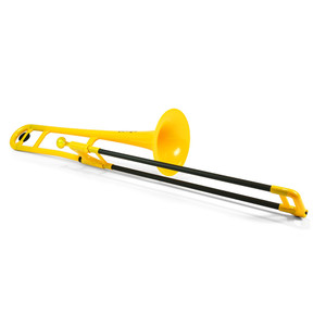 "<div>The Jiggs pBone is a truly authentic musical instrument that has already started to revolutionize the way we think about trombones and brass instruments.</div> <div> </div> <div>It's a fully functioning, medium bore Bb tenor trombone designed in the UK for brass players by brass players.</div> <div> </div> <div><strong>Durable</strong></div> <div>pBone is remarkably tough. It can take knocks and bumps in its stride. The pBone is therefore perfect to allow beginners to explore the trombone without any fear of damage.</div> <div><strong> </strong></div> <div><strong>Accessible</strong></div> <div>At less than half the weight of a brass trombone the pBone is ideal for the younger player and for all those who may have difficulty with the weight and</div> <div>balance of a metal trombone.</div> <div><strong> </strong></div> <div><strong>Ergonomic</strong></div> <div>The pBone has been thoughtfully designed to allow hands of various shapes and sizes to find a comfortable and effective grip of the instrument. This</div> <div>encourages good posture and the correct hand positioning. The ergonomic features of the pBone allow those with limited or restricted use of their hands and arms to engage with the trombone.</div> <div><strong> </strong></div> <div><strong>Slide</strong></div> <div>The composite slide tubes lap in over time so the slide gets better and better with use. The unique strength of the glass fibre material means that ""dings and dents"" in your slide are a thing of the past!</div> <div><strong> </strong></div> <div><strong>Robust</strong></div> <div>All ABS parts are extremely durable and our unique one-piece bell and gooseneck design is extraordinarily strong. The glass fibre slide tube is immeasurably stronger than fragile brass tubing and will withstand collisions that would demolish a traditional brass trombone slide. pBone may not be indestructible but it is certainly the most durable and robust trombone ever produced!</div> <div><strong> </strong></div> <div><strong>Mouthpiece</strong></div> <div>Designed especially for the pBone the mouthpiece has a small shank that matches standard medium bore trombones so any regular small shank metal mouthpiece will fit.</div> <div><strong> </strong></div> <div><strong>Water key</strong></div> <div>Amongst the many unique design features the pBone has its own unique water key design.</div> <div> </div> <div><strong>Lockable slide</strong></div> <div>pBone has a lockable slide that features a graphic to ensure the locking process is clear and simple to all.</div> <div> </div> <div><strong>Specification</strong></div> <div>• 8 inch bell</div> <div>• Pitched in Bb</div> <div>• Water key</div> <div>• Durable ABS and glass fibre</div> <div>• Weighs 1.8lbs</div> <div>• Fabric carry bag included</div>"