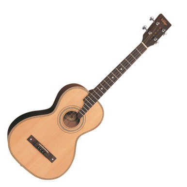 <p>VINTAGE VIATEN TENOR GUITAR AND BAG- BY PAUL BRETT</p> <p>The Vintage Viaten Paul Brett Signature Tenor Guitar is a fun and versatile four-string tenor guitar with a rich and expressive sound. Designed in collaboration with renowned English classic rock guitarist Paul Brett, the Viaten features a solid Spruce top and Sapele back and sides, delivering a warm and balanced tone perfect for Folk music but well suited to a wide range of styles. The Viaten also comes with a padded Vintage carry bag with shoulder straps, ensuring that your guitar remains safe and protected on the road.</p>