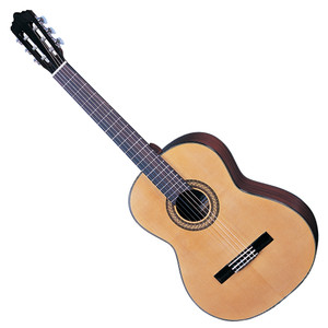 <p>SANTOS MARTINEZ ESTUDIANTE LEFT HAND CLASSIC GUITAR</p> <p>Selected solid spruce top and mahogany back and sides, one of the most traditional timber selections for classical guitar construction imbue the Estuduiante with a blend of mellow mids, strong bass, and sparkling treble. With cosmetic features such as multi ply binding, and pearloid butterfly machine head buttons, this Santos Martinez looks as beautiful as it sounds. Full Specification Solid Spruce top Mahogany back & sides Multi-ply binding Eastern mahogany neck Black rosewood fingerboard Black rosewood bridge Chrome plated/pearlised butterfly button machineheads High quality USA made strings Natural – gloss finish</p>