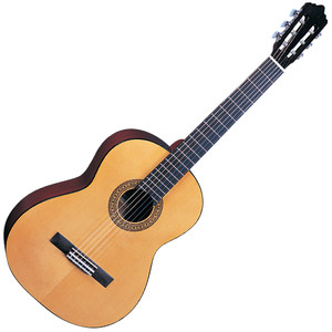 <p>SANTOS MARTINEZ PRINCIPANTE CLASSIC GUITAR 4/4 SIZE</p> <p>With a full size body and an equally fully rounded nylon string tone, the SM44 allows guitar students of any age to quickly and confidently progress with their playing. Anyone interested in the sweet sound of a nylon string classical guitar, and indeed acquiring one of same, should most definitely have the Santos Martinez name on their shopping list. With a richly toned range of nylon string classical guitars , Santos Martinez' finely crafted instruments will be appreciated by guitarists of all ages and abilities. Additionally, all Santos Martinez guitars are fitted with premier quality, USA-manufactured D'Aquisto strings Full Specification Spruce top Sapele back & sides Black binding Eastern mahogany neck Black rosewood fingerboard Black rosewood bridge Plastic button machineheads High quality USA made strings Natural – gloss finish</p>