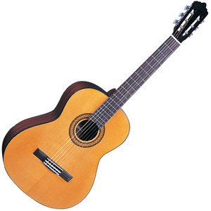 <p>SANTOS MARTINEZ ESTUDIO CLASSIC GUITAR 4/4</p> <p>The full size SM50 features a solid spruce top - rewarding fledgling guitarists with a vibrant and resonant tone - good note detail and an impressive playing response.</p>