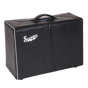 <p>SUPRO BLACK AMP COVER - FITS 1 X 12 AND 2 X 10 COMBO</p>