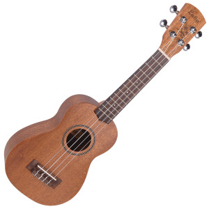 <p>VINTAGE LAKA SERIES SOPRANO ACOUSTIC UKULELE - SOLID MAHOGANY</p> <p><span>Effectively the-standard' ukulele and the smallest bodied of the family, with the most recognisable uke tone, the soprano uke is the one on which most novices learn. The Laka Soprano Uke is an acoustic model which features a solid mahogany top, with laminated mahogany back and sides. A rosewood fingerboard carries 3mm-micro dot' markers, and check the neat-rope binding' rosette on all the Laka ukes including this soprano one.</span></p>