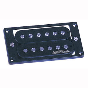 Open coil-style Humbucker with a higher output than the WVC. Harmonically rich with tight lower frequency response. Special windings with ceramic magnets give good highs without sounding thin. Nickel silver backing plates complete this high quality pickup.