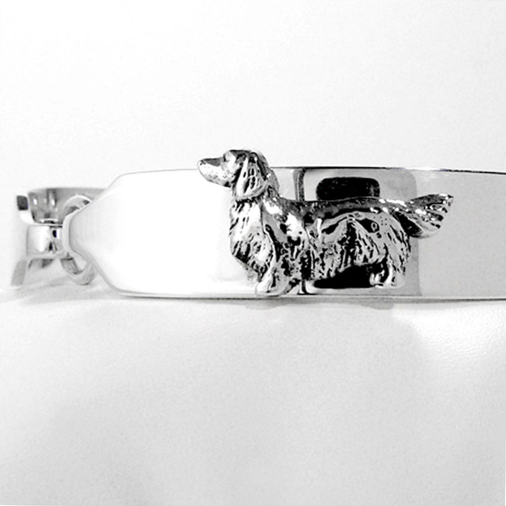 ID Bracelet with Dog Breed