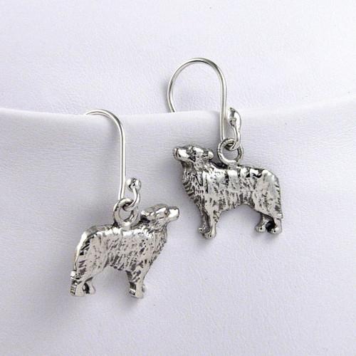 Border Collie Earrings