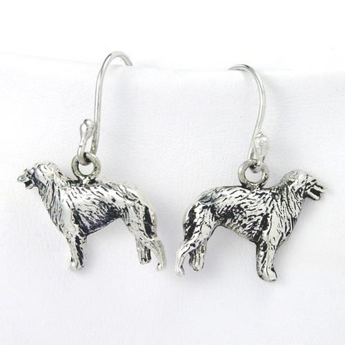 Borzoi Earrings