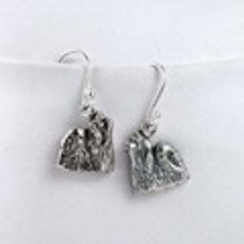 Maltese Show Earrings