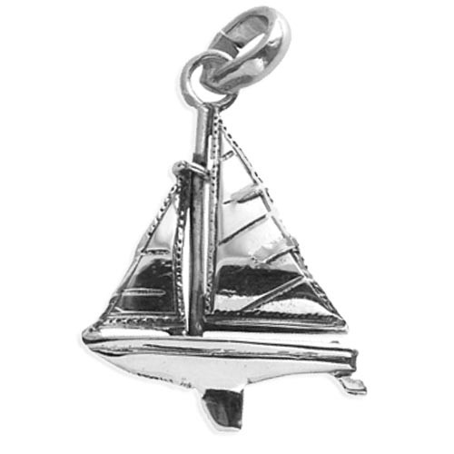 Sail Boat Charm