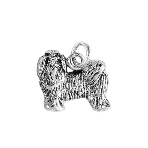 Maltese Puppy Small Charm