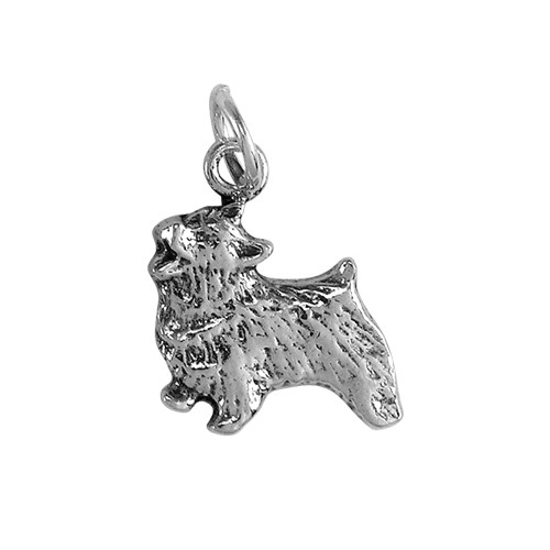 Norwich Terrier Small Charm
