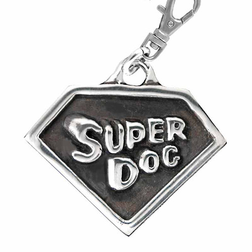 Super Dog Tag Silver