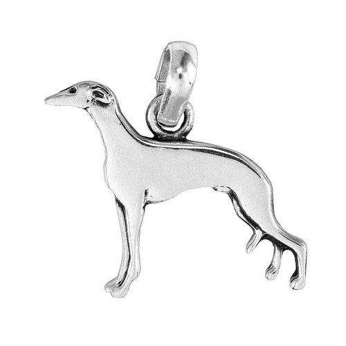 Greyhound Large Charm