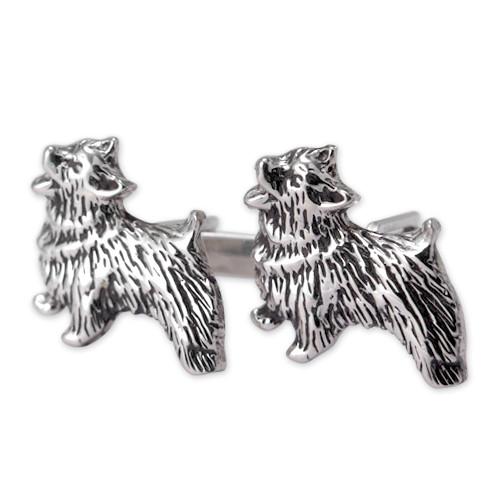 Norwich Terrier Cufflinks