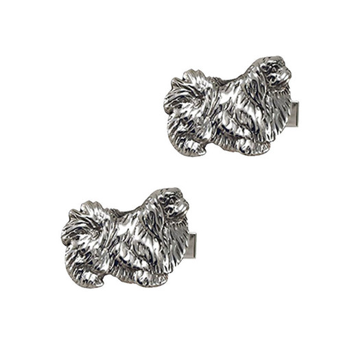 Pekingese Cufflinks