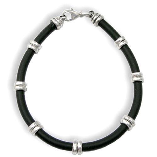 Beaded Rubber Bracelet