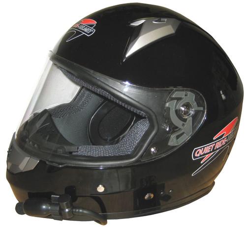 Quiet Rides Fiberglass Full Face Helmet