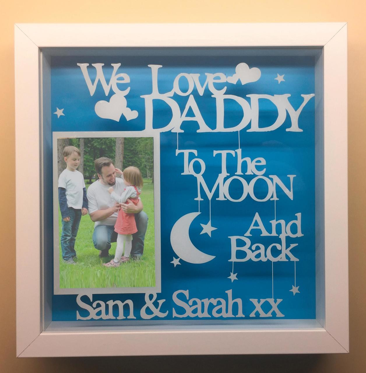 We Love Daddy To The Moon And Back V2 Totesamazewalls