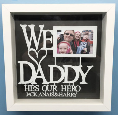 We Love Daddy Hes Our Hero Totesamazewalls