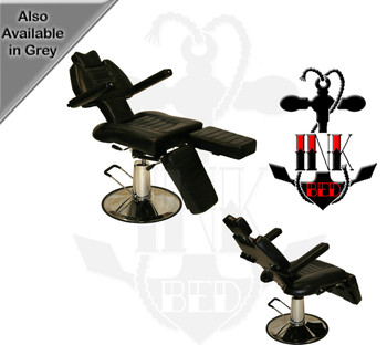 LET-215 Deluxe Sturdy Ball & Socket Joint Fully Adjustable Tattoo Armrest and Legrest