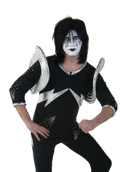 Kiss Adult Costume Ace Frehley Alive Kiss Museum