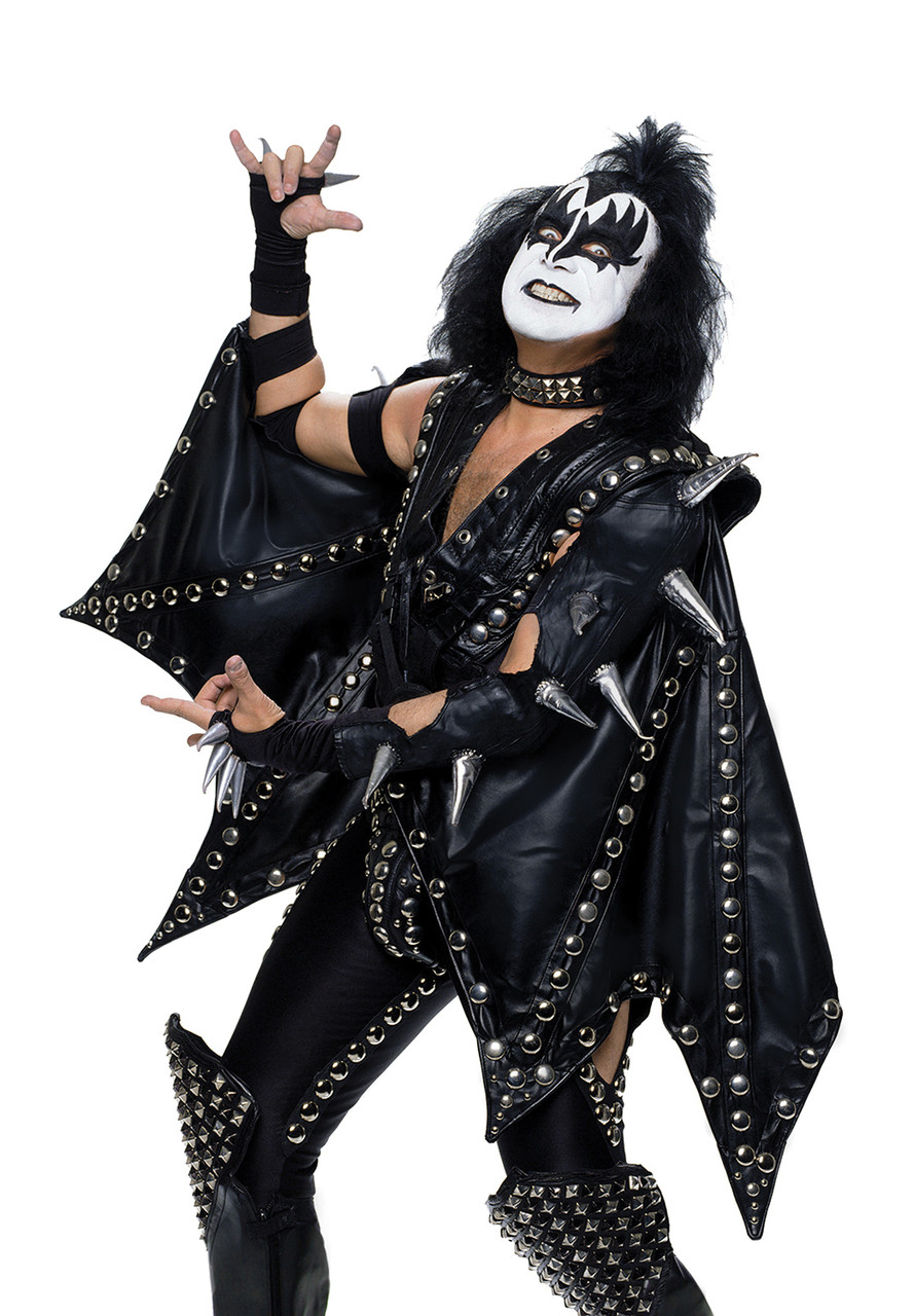 Kiss Adult Costume Gene Simmons Alive Kiss Museum
